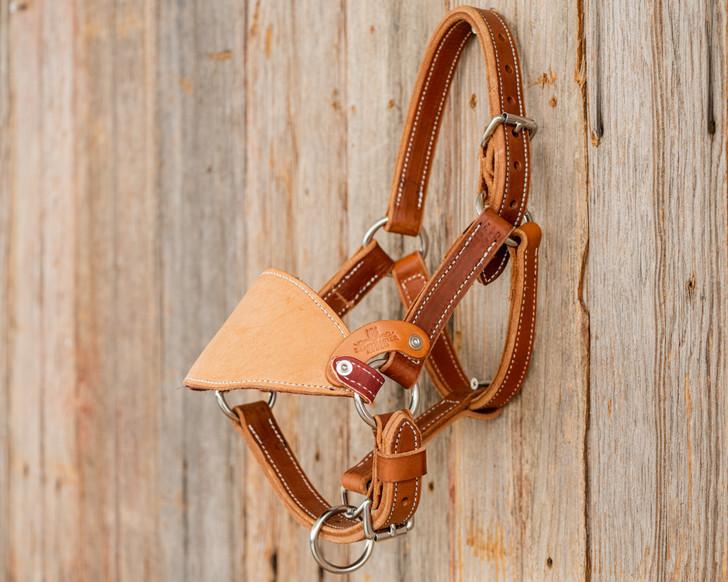 Leather Mini Bronc Halter