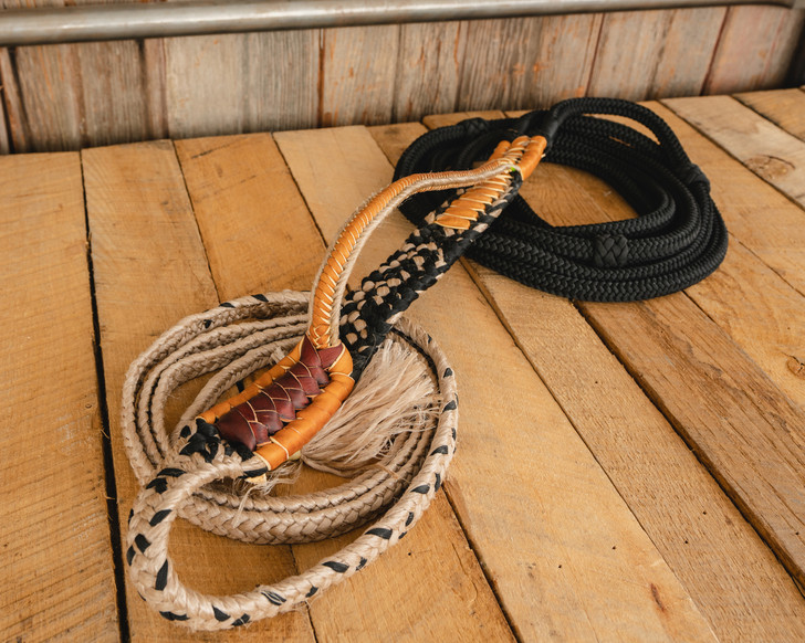 "Colored Brazilian Series Bull Rope - 7/8"" Handle 7/8"" Soft Tail"
