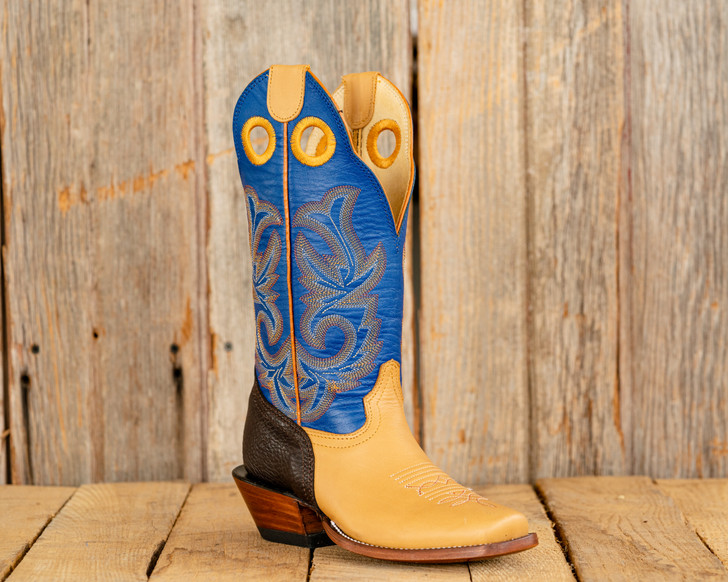 Beastmaster Youth Rough Stock Riding Boot - Blue
