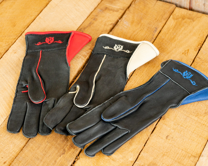 Beastmaster Bull Riding Glove Out-Seam