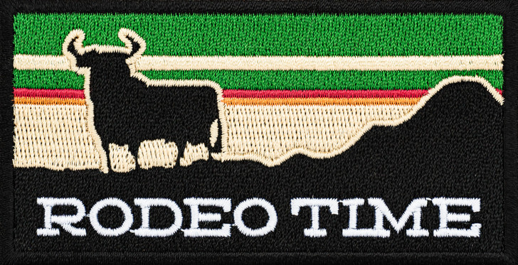 Rodeo Time Sunset Patch