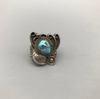 nugget style turquoise ring
