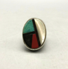 Multi-stone inlay ring