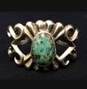sandcast turquoise bracelet
