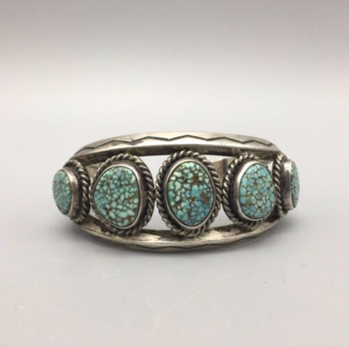 #8 turquoise cuff bracelet