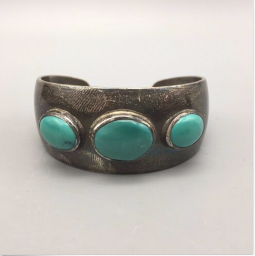 bolo, vintage, sterling silver, turquoise, Native American, Frank Patania