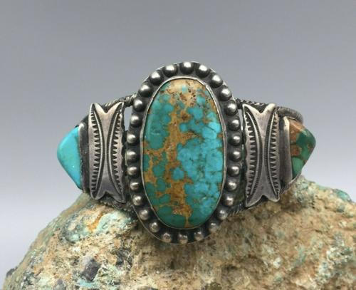 Large turquoise cabochon turquoise