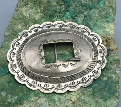 Vintage sterling silver buckle