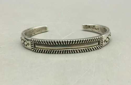 Perry Shorty Ingot style  coin silver bracelet