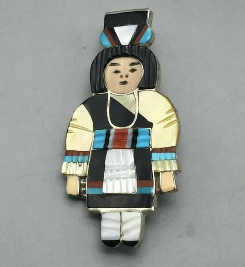Madeline Beyuka pin, pendant