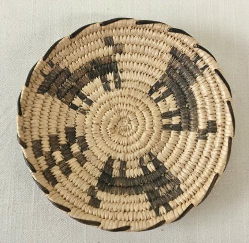 Dog pattern Pima basket