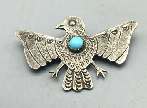 1948 Thunderbird brooch