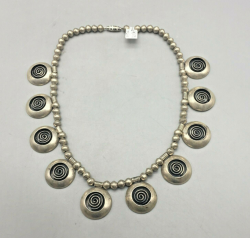 Victor Coochwytewa choker necklace