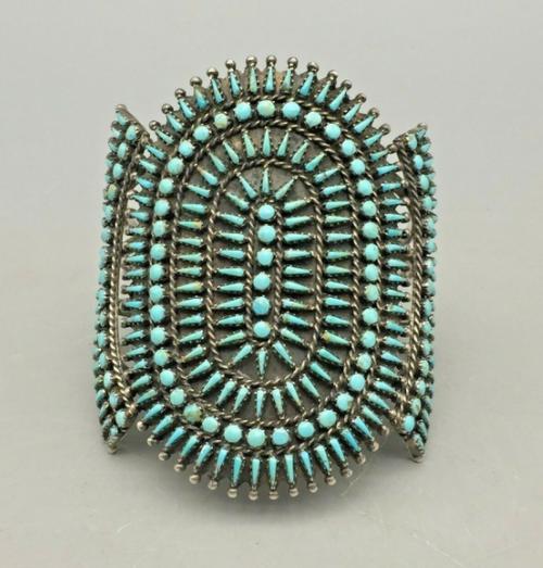 Zuni petit point cuff bracelet