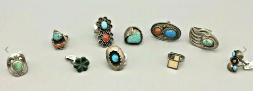 10 Vintage rings
