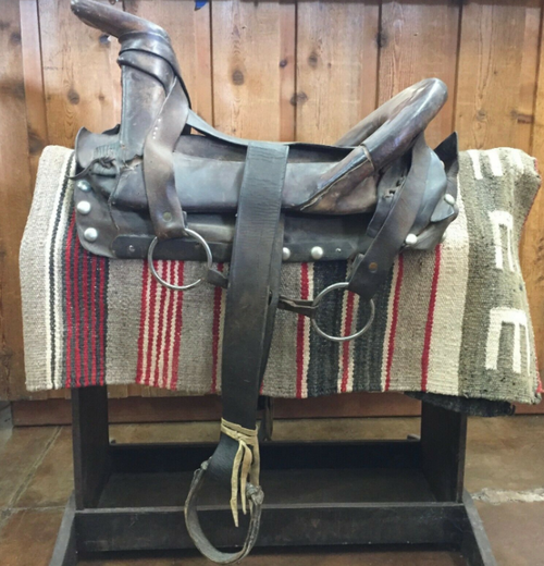 Native American Navajo Ladies Saddle
