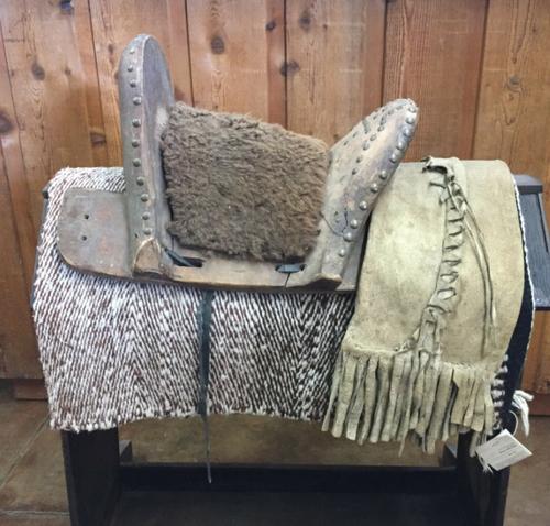 Antique Apache Saddle