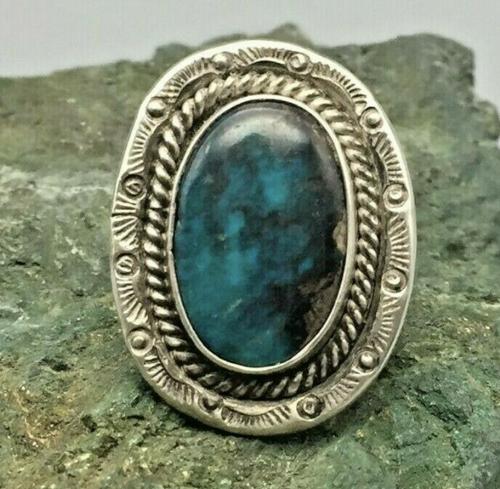 Bisbee turquoise ring