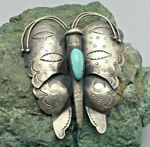 UITA #6 Butterfly pin