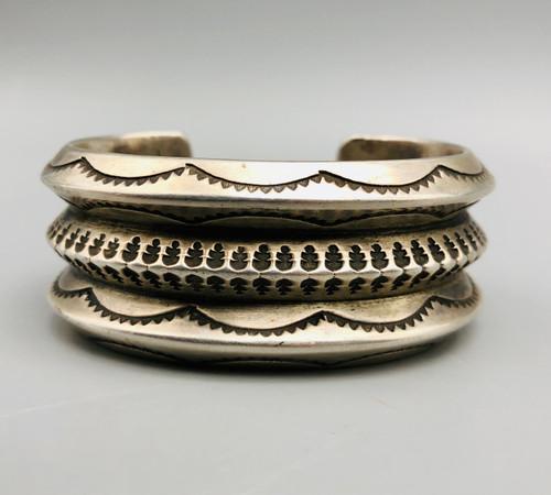 Sterling Silver Ingot bracelet