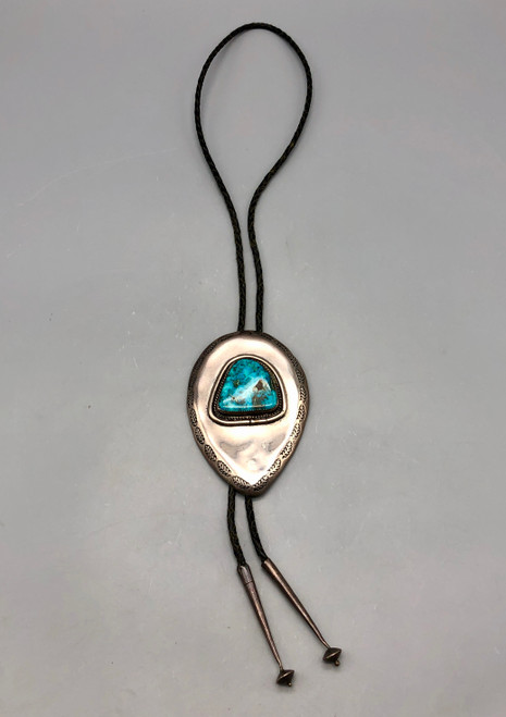 Sterling Silver and Turquoise bolo tie