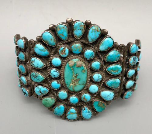 Circa 1930s cluster bracelet