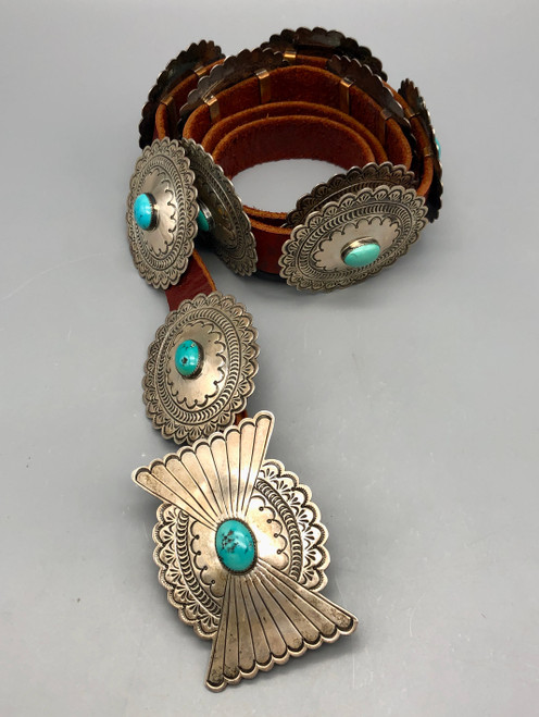 Contemporary concho belt