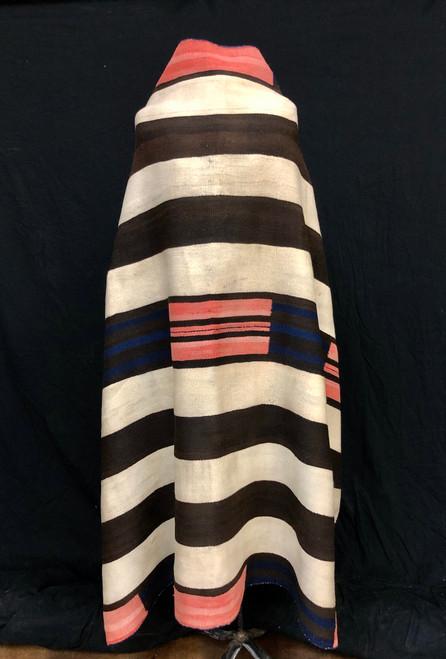 Rare! Original Navajo Second Phase Chief's Blanket - Circa 1850 - 1870