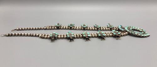 Lovely Older Vintage Squash Blossom Necklace