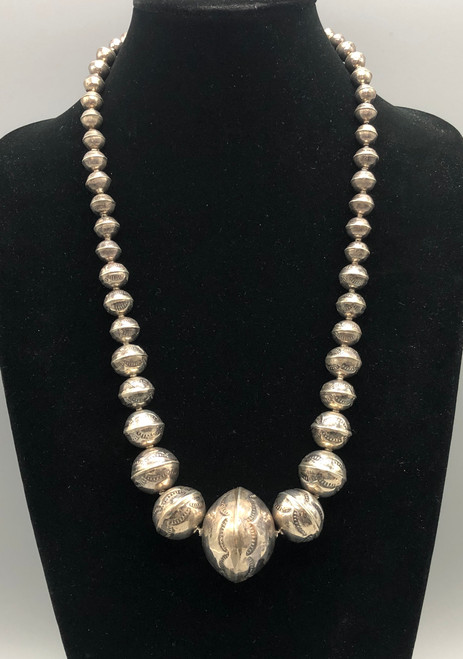 FEATURED in Cowboys & Indians Magazine is a Gorgeous Vintage Navajo Pearls Necklace
