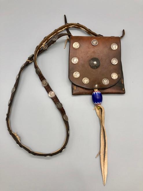 Vintage Bandolier Bag Featured in Cowboys & Indians Magazine Nov/Dec 2021