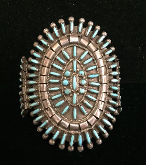 petitpoint cluster bracelet