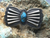 Butterfly concho style pin