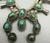 Green turquoise squash blossom set