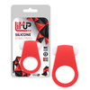 LIT-UP SILICONE STIMU RING 4 RED