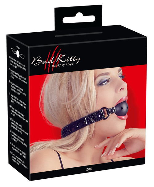 Perforated gag