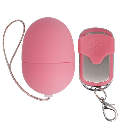 SPIRIT SMALL VIBRATING EGG REMOTE PINK