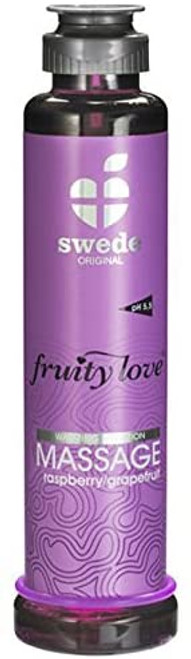 FRUITY LOVE MASSAGE CREAM RASPBERRY GRAPEFRUIT 50 ML.