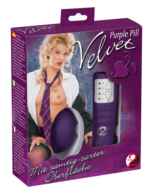 Velvet Purple Pill