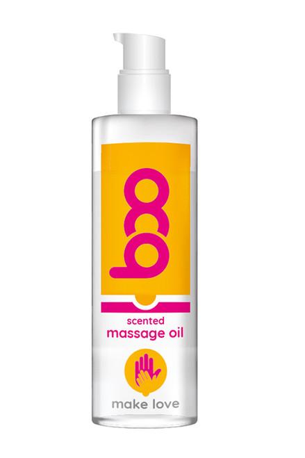 BOO MASSAGE OIL MAKE LOVE SCENTED 150ML