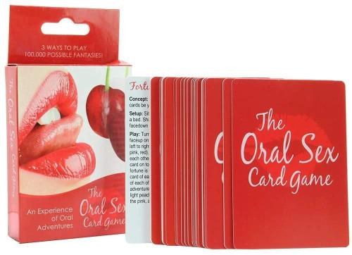 ORAL SEX CARD GAME