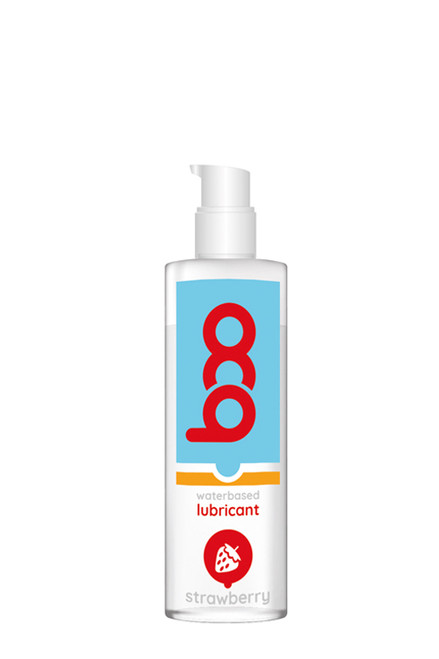 BOO FLAVORED LUBRICANT STRAWBERRY 150ML