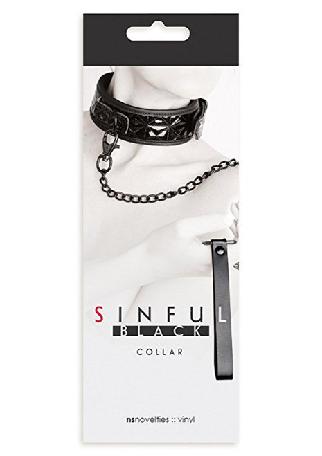 Sinful Collar, Black