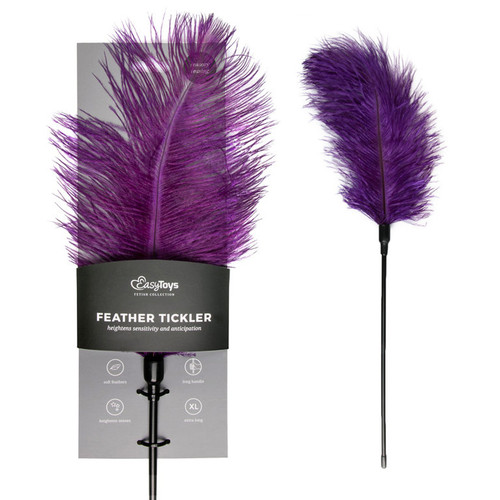 FEATHER DUSTER PURPLE 48 CM