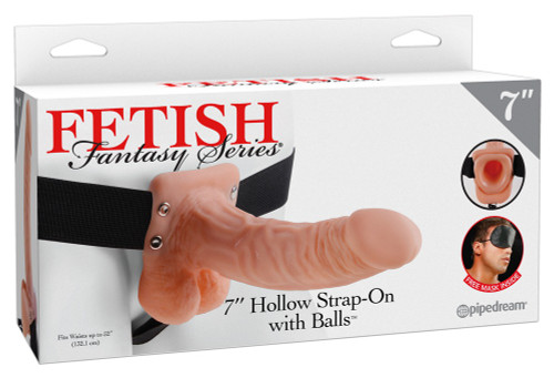 Hollow Strap-on with Balls