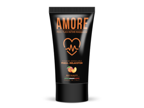 WATERBASED LUBRICANT AMORE PEACH 75 ML