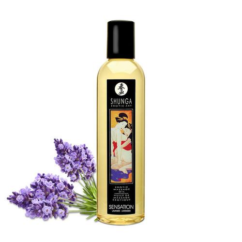 Shunga Sensation Lavender Massage Oil 250ml