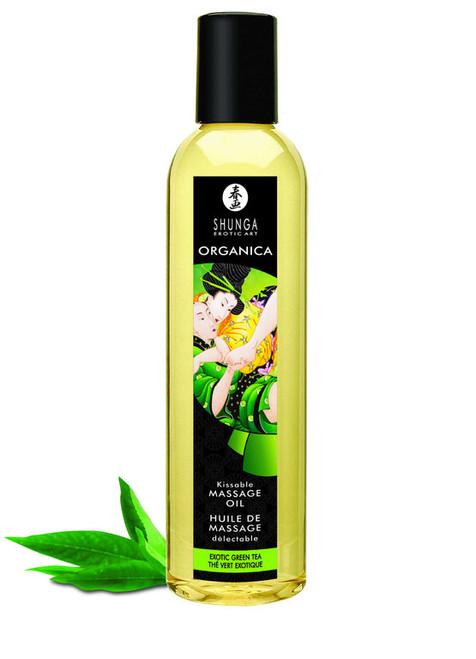 Shunga Massage Oil Organic Green Tea 250ml
