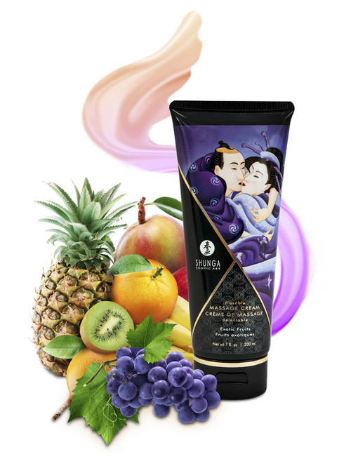 KISSABLE MASSAGE CREAM EXOTIC FRUITS