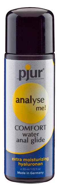 LUBRICANT RELAXING ANAL WATERBASED PJUR ANALYSE ME COMFORT GLIDE 30 ML